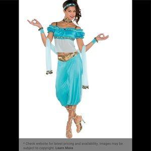 Princess jasmine costume!